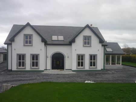 Offaly Dormer Front Elevation