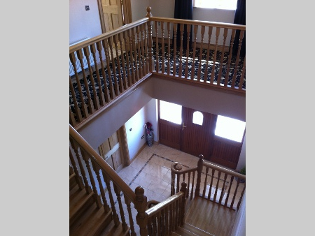 Roscommon Two Storey House Staircase