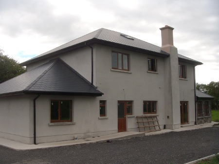 Roscommon Two Storey House Rear Elevation